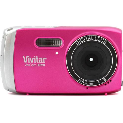Vivitar ViviCam X020 Digital Camera (Pink)