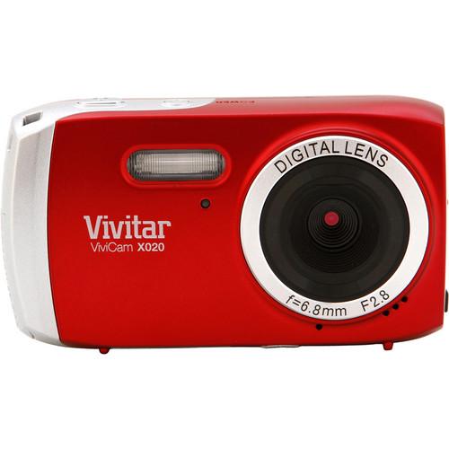 Vivitar ViviCam X020 Digital Camera (Red)