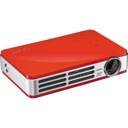 Vivitek Qumi Q5 Super Bright HD Pocket Projector (Red)
