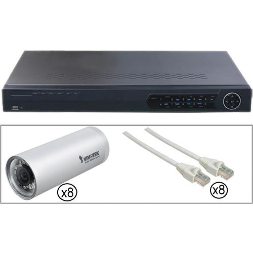 Vivotek 8-Camera Outdoor Bundle Kit