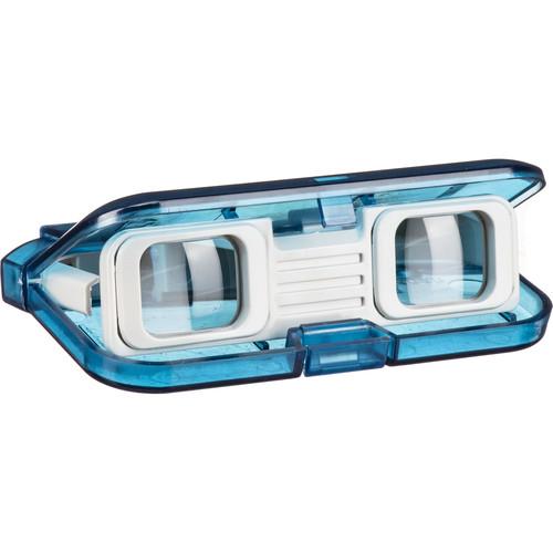 Vixen Optics 3x28 Folding Opera Glasses (Clear Blue)