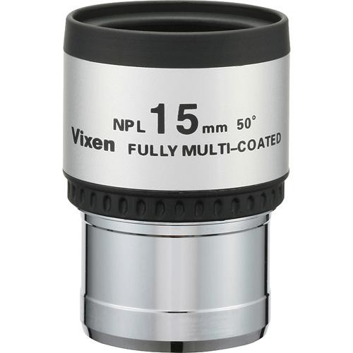 "Vixen Optics NPL Plossl 15mm Eyepiece (1.25"")"