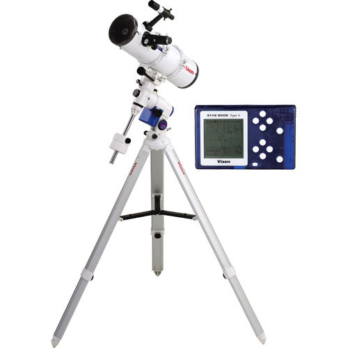 "Vixen Optics R130Sf 5.1""/130mm Reflector Telescope Kit with GP2 Mount & Starbook-S"
