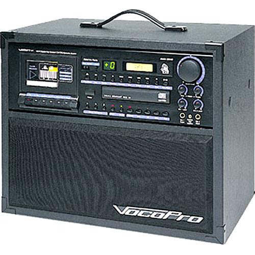 VocoPro Bravo Pro - Integrated Karaoke PA System with Amplifier (160W)