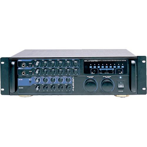 VocoPro DA-3700 Pro Mixing Amplifier for Karaoke Rigs (200W)