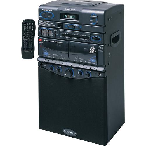 VocoPro DVD-DUET 80W Semi-Pro Multi-Format Vocal System