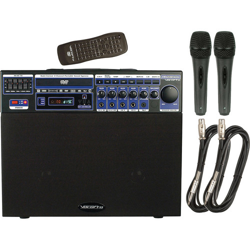 VocoPro DVD-SOUNDMAN BASIC Multi-Format Portable Sound System