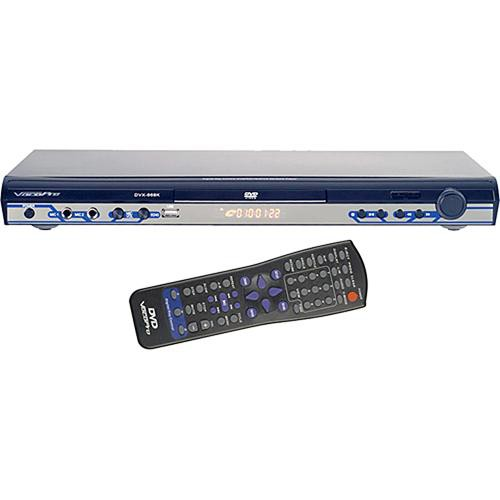VocoPro DVX-668K Multi-Format USB, DVD, CD+G Karaoke Player