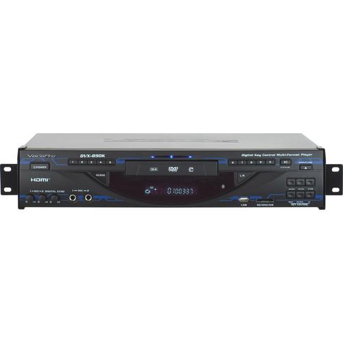 VocoPro DVX-890K Multi-Format Digital Key Control DVD / DivX Player