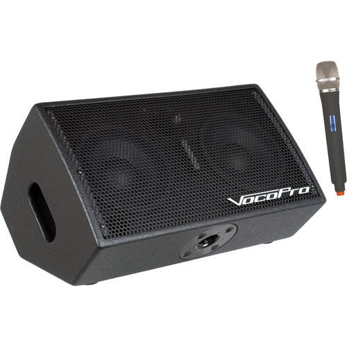 VocoPro STAGE-MAN 1 200W 3-Channel Active Vocal Monitor with DSP Effects & SD Recorder