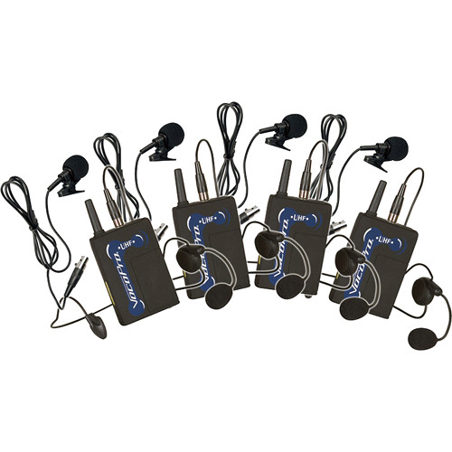 VocoPro UBP-3 UHF Wireless Bodypack Microphone Set