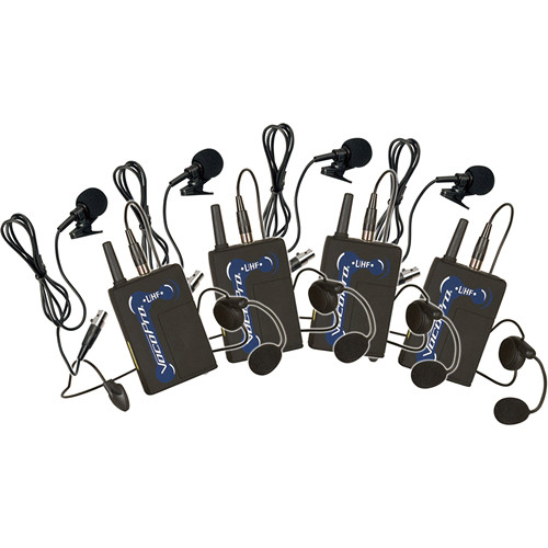VocoPro UBP-4 UHF Wireless Bodypack Microphone Set