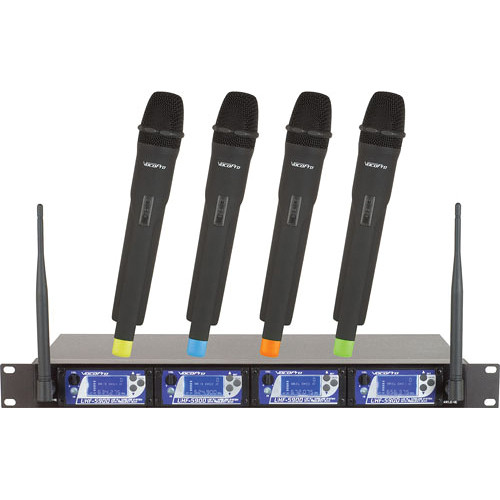 VocoPro UHF-5900 UHF PLL Wireless Mic System with Frequency Scan (600 MHz)