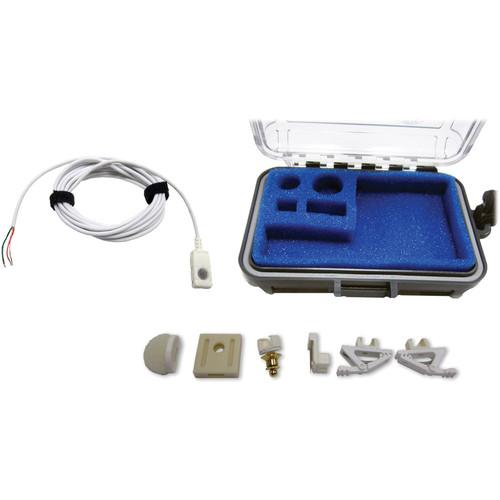 Voice Technologies VT500 Omnidirectional Lavalier Condenser Microphone (White, Unterminated 3-Wire Pigtail)