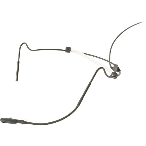 Voice Technologies VT800 Headworn Headset Microphone for Shure and Sabine Transmitters (Black)