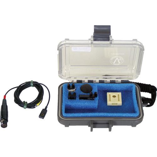 Voice Technologies VT500WATER Waterproof Omnidirectional Lavalier Microphone (Servo-Bias TA5F Connector, Black)