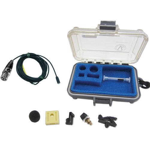 Voice Technologies VT401HS Professional Miniature Omnidirectional Lavalier Microphone (Black)
