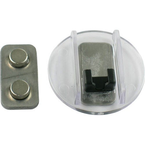 Voice Technologies Microphone Magnet Cage Clip (Black)