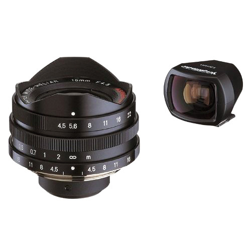 Voigtlander Super-Wide Heliar 15mm f/4.5 Aspherical Lens with Viewfinder