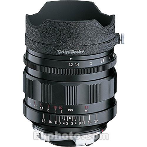 Voigtlander Nokton 35mm f/1.2 Aspherical M-Mount Lens