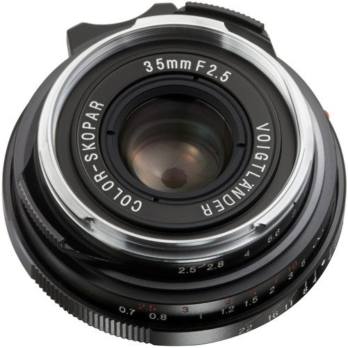 Voigtlander Color-Skopar 35mm f/2.5 P II Lens