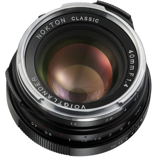 Voigtlander Voigtlander Nokton 40mm f/1.4 M-Mount Lens (Single Coated)