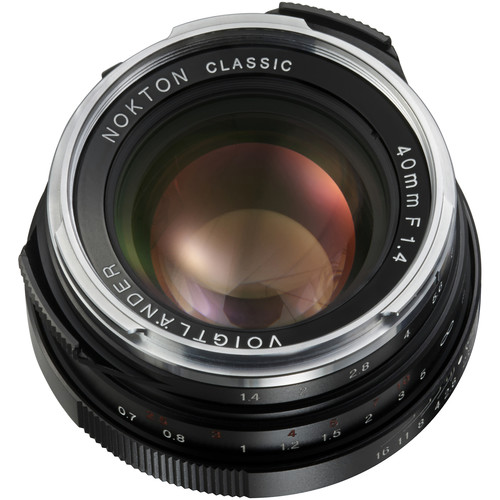 Voigtlander Nokton 40mm f/1.4 M-Mount Lens