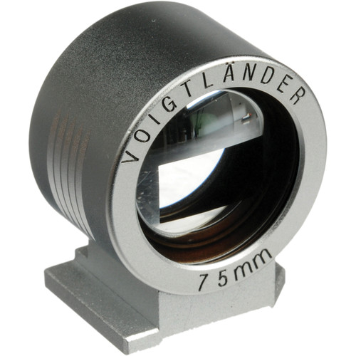 Voigtlander Viewfinder for 75mm (Silver)