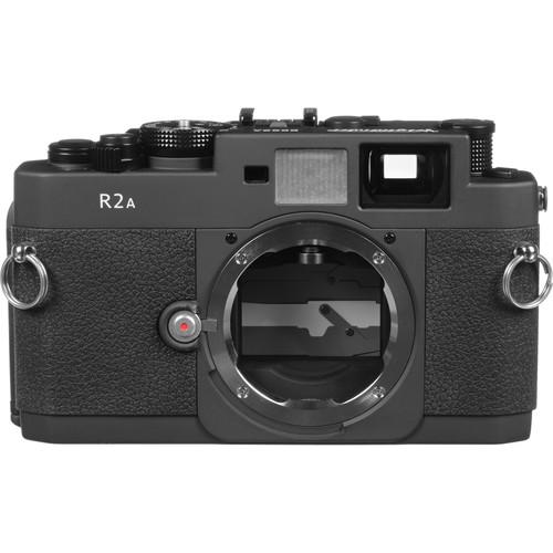 Voigtlander Bessa R2A Camera - Matte Black