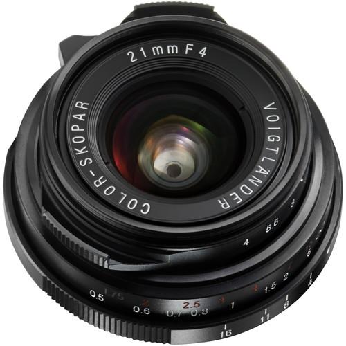 Voigtlander Color-Skopar 21mm f/4.0 P Pancake Lens