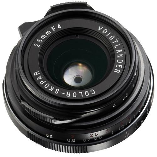 Voigtlander Color-Skopar 25mm f/4 P Pancake Lens