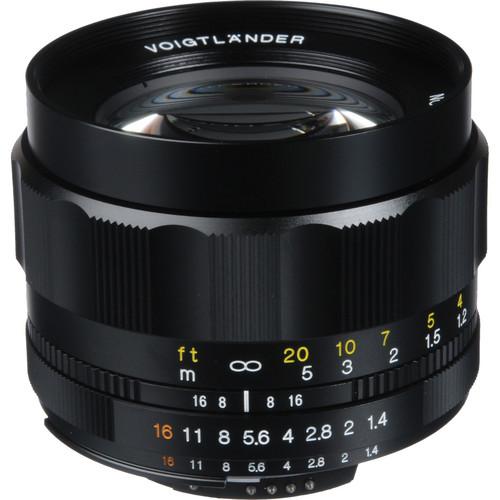 Voigtlander Nokton 58mm f/1.4 SL-II N Manual Focus Lens for Nikon AIS