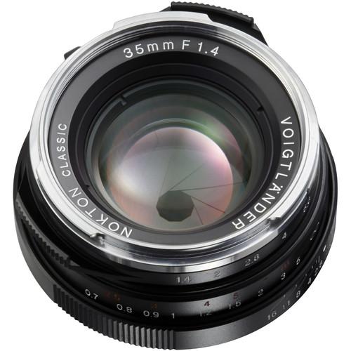 Voigtlander Nokton Classic 35mm f/1.4 MC Lens