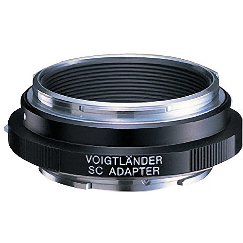 Voigtlander Adapter for Nikon/Contax SC Mount Lens to Sony E-Mount Camera