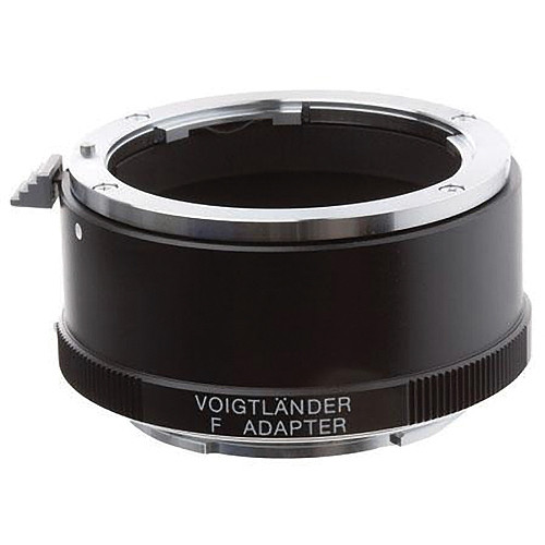 Voigtlander Adapter for Sony E Mount Cameras--Nikon F Mount Lens (Black)