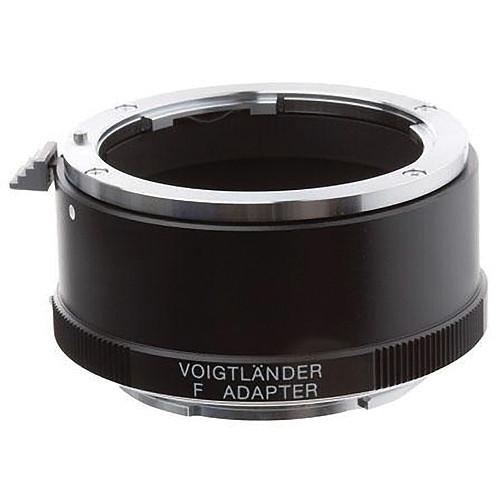 Voigtlander Adapter for Sony E Mount Cameras--Nikon F Mount Lens (Black)
