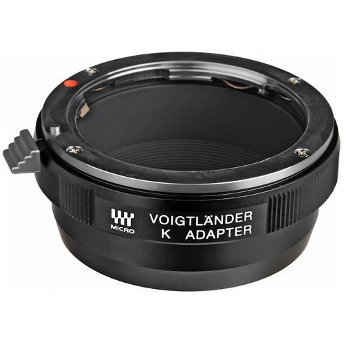 Voigtlander Micro Four Thirds to Pentax K Lens Adapter