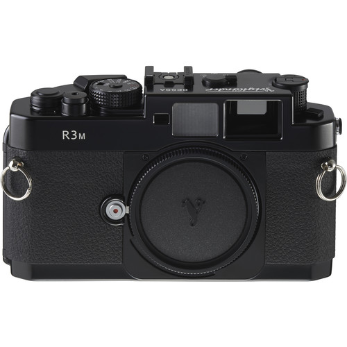 Voigtlander Bessa-R3M (1:1 Viewfinder) 35mm Rangefinder Manual Focus Camera Body - Black