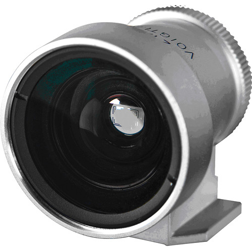 Voigtlander 21/25mm Viewfinder (Silver Metal)