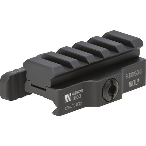 Vortex AR-15 Riser Mount with Quick Release Lever (Matte Black)