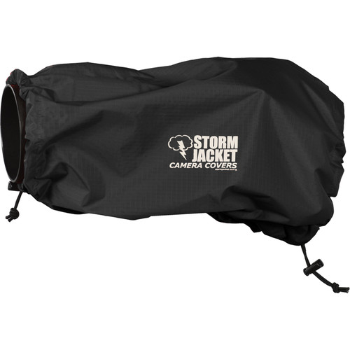 Vortex Media SLR Storm Jacket Camera Cover, Large (Black)