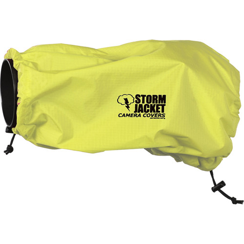 Vortex Media SLR Storm Jacket Camera Cover, Large (Yellow)