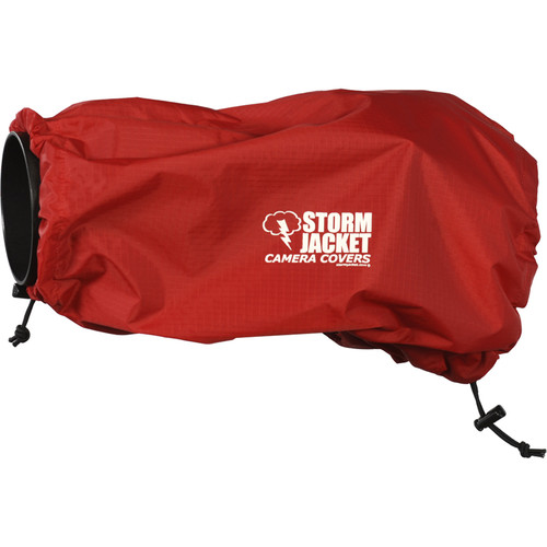 Vortex Media SLR Storm Jacket Camera Cover, Medium (Red)