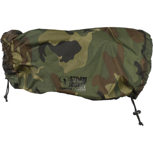 Vortex Media SLR Storm Jacket Camera Cover, X-large (Camo)