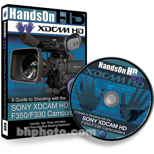 Vortex Media DVD: Instructional DVD for the Sony XDCAM HD Camcorders
