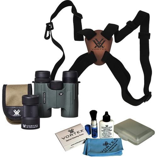 Vortex Viper 10x32 Binocular Kit