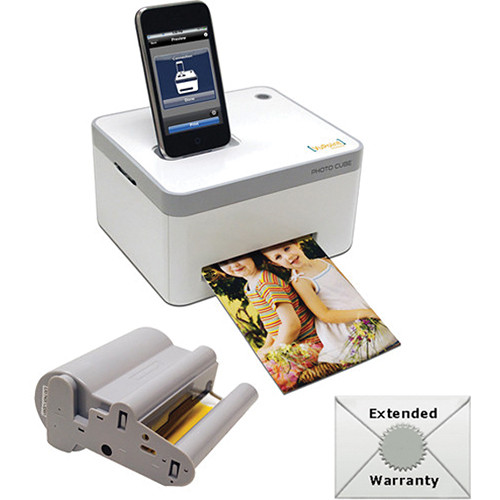 VuPoint Solutions VuPoint Photo Cube Compact Dye-Sub Photo Printer Starter Kit
