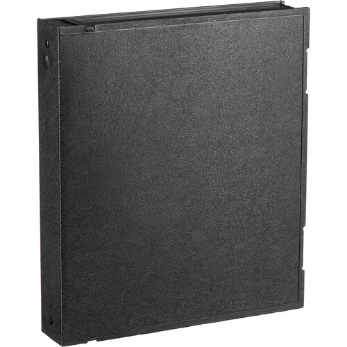 Vue-All Archival Safe-T Binder (With Rings, Black)