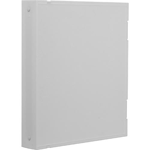 Vue-All Archival Safe-T Binder (With Rings, White)