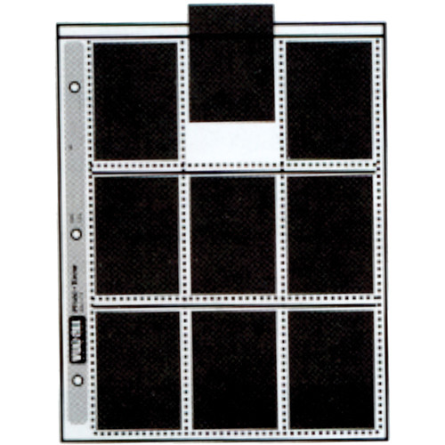 "Vue-All Photo Saver Archival Storage Page - 2.5x3.5"" - Holds 18 Prints - 100"